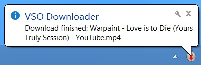 vso downloader balloon hint